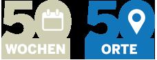 50 Wochen 50 Orte Logo